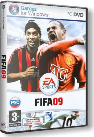 FIFA 09 Electronic Arts (2008/Multi6/RePack by freefrager)​