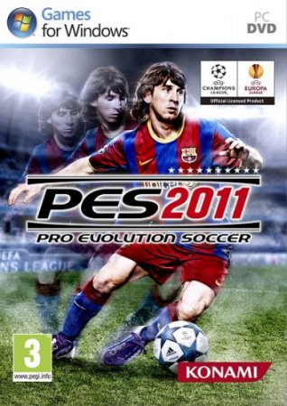 Pro Evolution Soccer 2011 (2010/RUS/FR/Pack by Shepards)