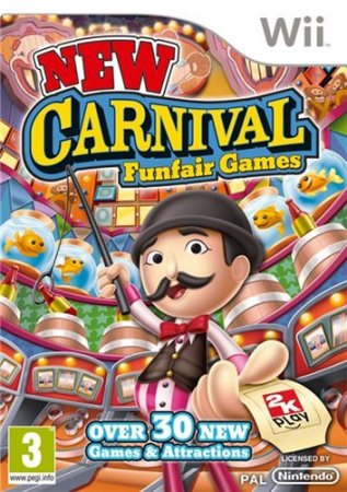 New Carnival Games (2010/Wii/ENG)