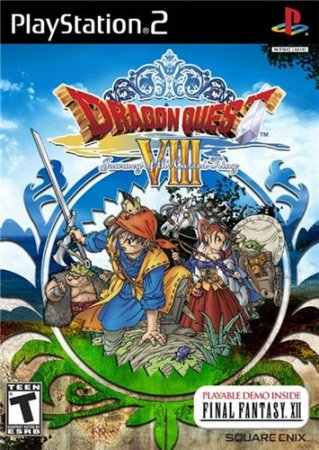 Dragon Quest VIII Journey of the Cursed King (2010/PS2/RUS)