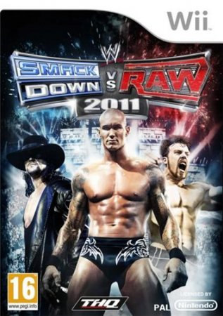 WWE SmackDown! vs. Raw 2011 (2010/Wii/ENG)