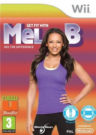 Get Fit With Mel B (2010/Wii/ENG)