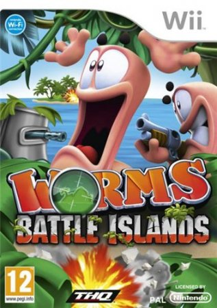 Worms: Battle Islands (2010/Wii/ENG)