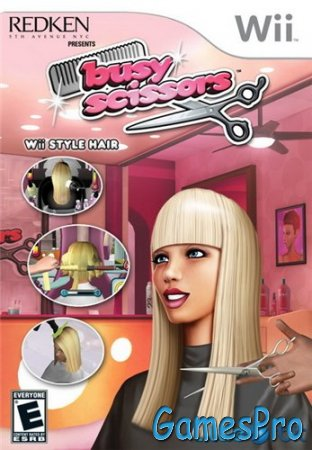 Busy Scissors (2010/Wii/ENG)
