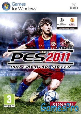 Pro Evolution Soccer 2011 v1.03 (2010/RUS/ENG/Repack by R.G. Repackers)