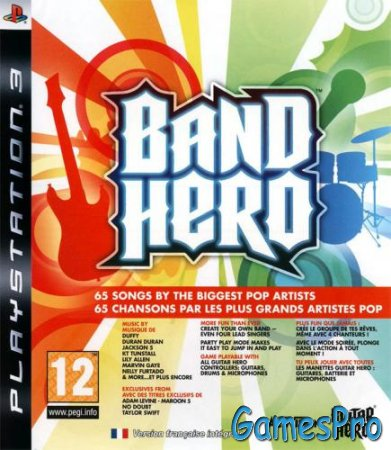 Band Hero (2009/EUR/ENG/MULTI/PS3)