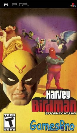 Harvey Birdman: Attorney at Law (2008/PSP/RUS)