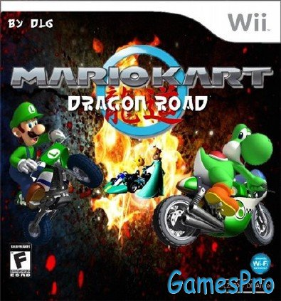 Mario Kart Dragon Road (2011/Wii/ENG)