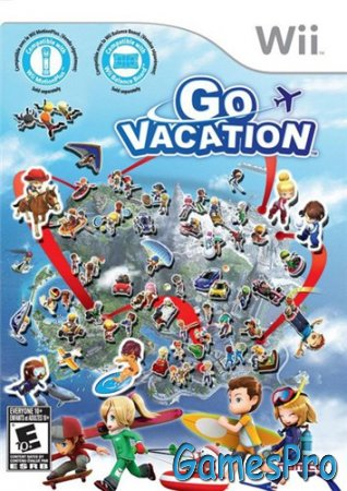 Go Vacation (2011/Wii/ENG)