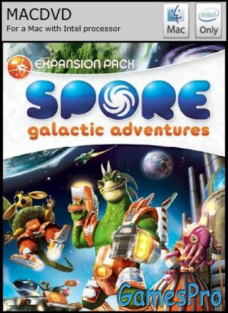 Spore: Galactic Adventures (2009/MacOS/RUS/Native Port)
