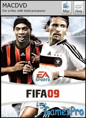 FIFA 09 (2009/MacOS/RUS/CXZ Port by LCANT)