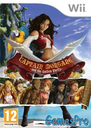 Captain Morgane and the Golden Turtle (2012/Wii/ENG)