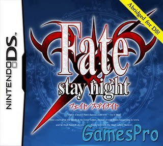 Fate/stay night DS [Homebrew]