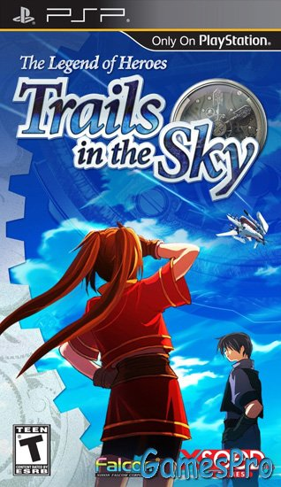The Legend of Heroes: Trails in the Sky (2011/ENG/PSP)