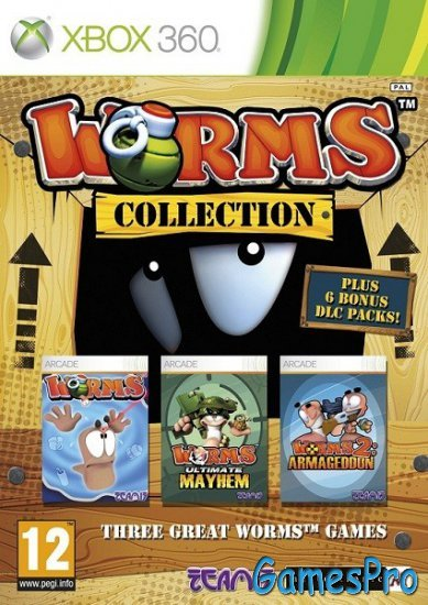 Worms Collection (2012/ENG/PAL/XBOX360)