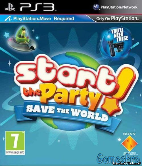 Start The Party! Save the World (2011/PS3/RUSSOUND/MOVE)