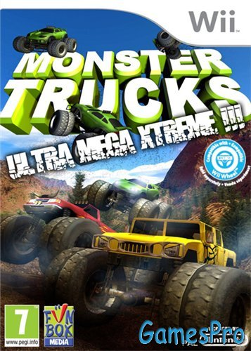 Monster Trucks (2012/Wii/ENG)