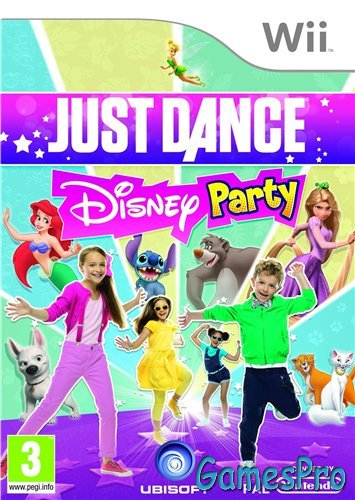 Just Dance Disney Party (2012/Wii/ENG)