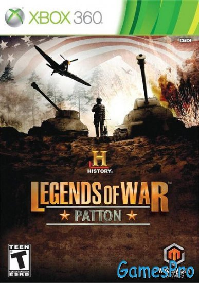 History Legends of War: Patton (2012/ENG/NTSC/XBOX360)