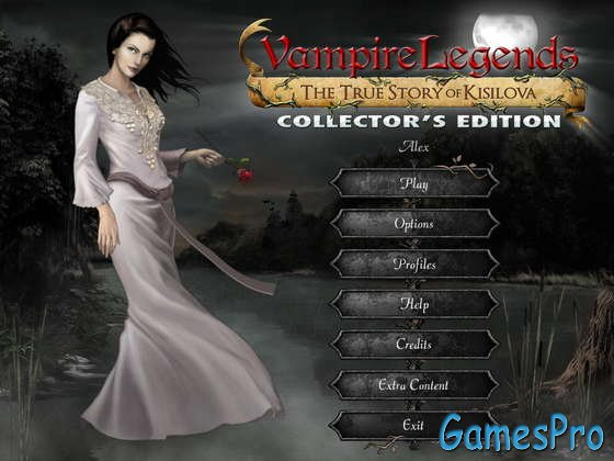 Vampire Legends: The True Story of Kisilova. Collector's Edition (2013)