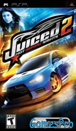 Juiced 2 Hot Import Nights (PSP/RUS)