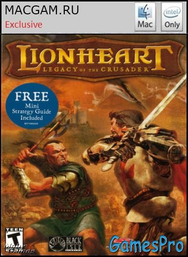Lionheart: Legacy of The Crusader / Левове Серце (2004/MacOS/FULL RUS / Wineskin)