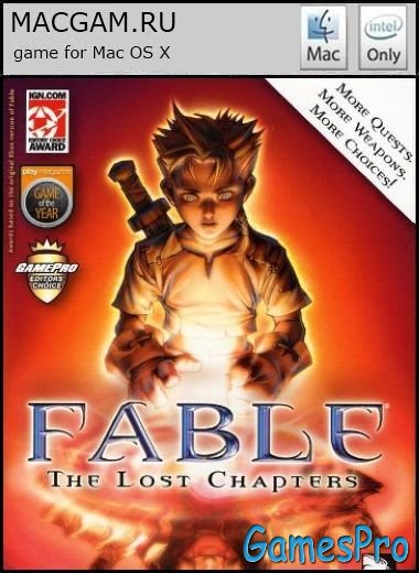 Fable: The Lost Chapters (2008/MacOS/ENG)