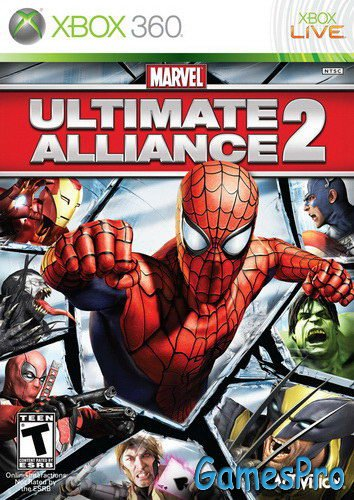 Marvel: Ultimate Alliance 2 (2009/RF/ENG/XBOX360)