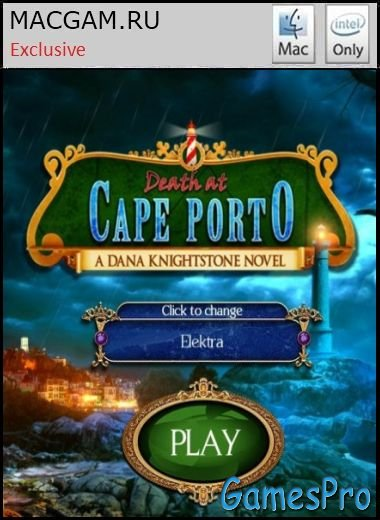 Death at Cape Porto: A Dana Knightstone Novel. Collector's Edition (2013/MacOS/ENG/Wineskin)
