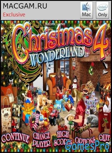 Christmas Wonderland 4 (2013/MacOS/ENG/Wineskin)