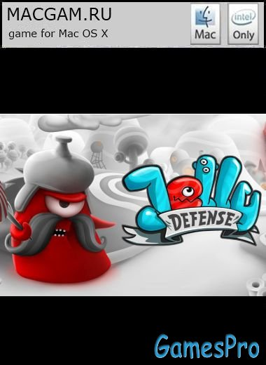 Jelly Defense (2012/MacOS/ENG/Wineskin)