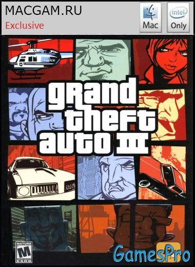Grand Theft Auto 3 (2002/MacOS/ENG/FULL RUS/Cider/Wineskin)