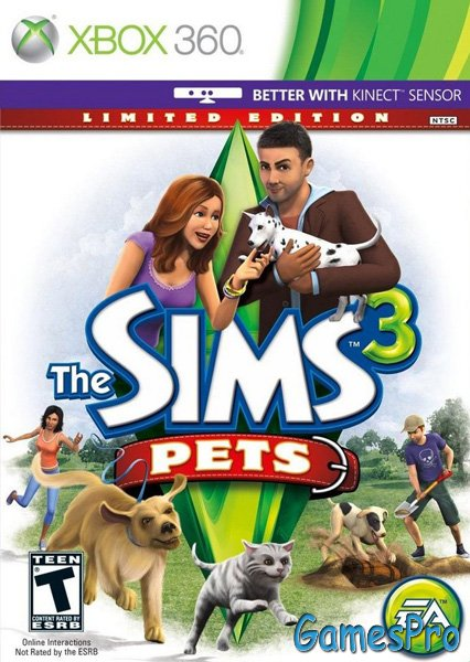 The Sims 3: Pets (XBOX360)