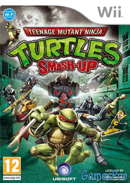 Teenage Mutant Ninja Turtles: Smash-Up (Wii) PAL