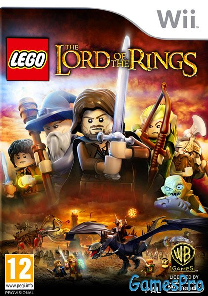 LEGO The Lord of the Rings (NINTENDO Wii) PAL