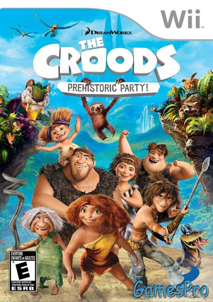 The Croods: Prehistoric Party! (Wii)