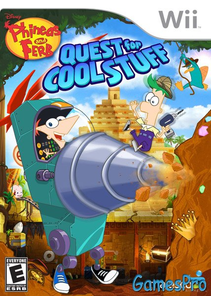 Phineas and Ferb: Quest For Cool Stuff (Wii)