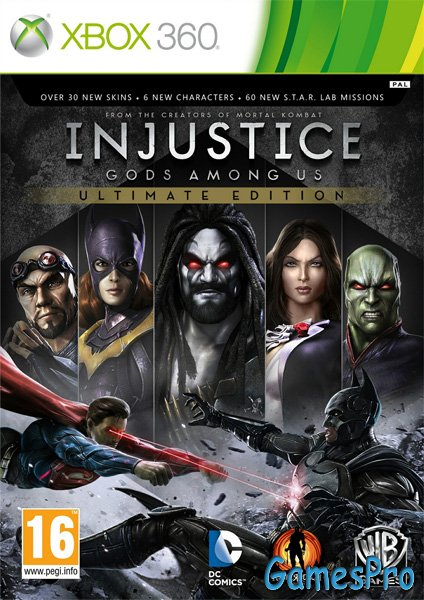 Injustice: Gods Among Us - Ultimate Edition (XBOX360)