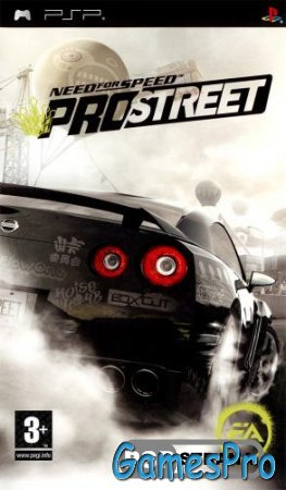 Need for Speed ProStreet (PSP/RUS)