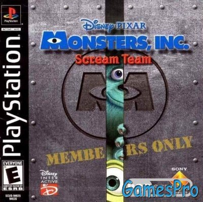 Monster Inc. (2001/RUS/PSX)