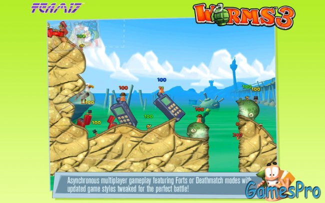 Worms 3 v1.01