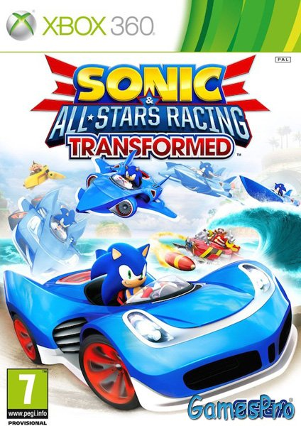 Sonic & All-Star Racing Transformed (XBOX360)