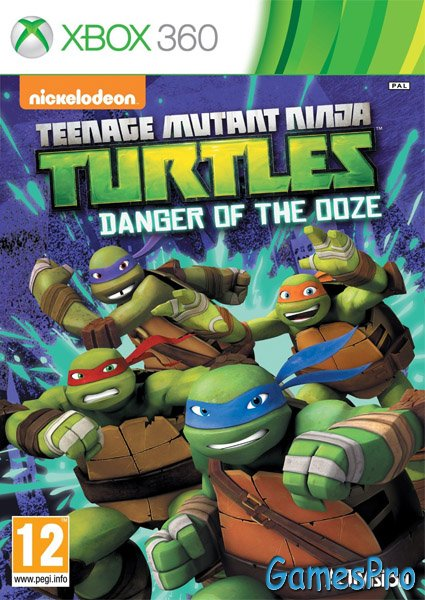 Teenage Mutant Ninja Turtles: Danger of the Ooze (XBOX360)