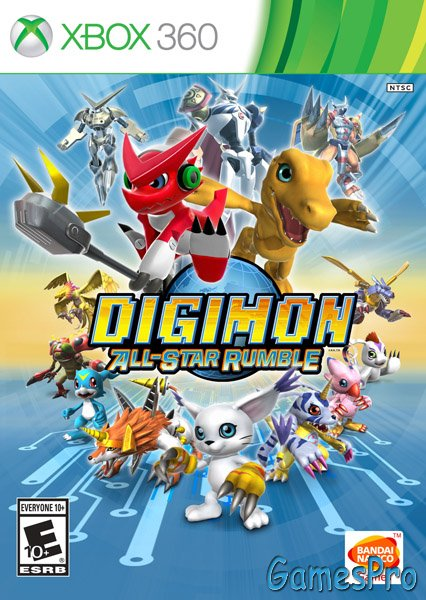 Digimon All-Star Rumble (XBOX360) NTSC