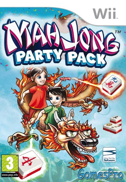 Mahjong Party Pack (Wii)